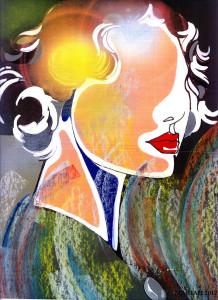 pastels with lipstick copyA